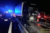 Nehoda na sjezdu u Olympie.