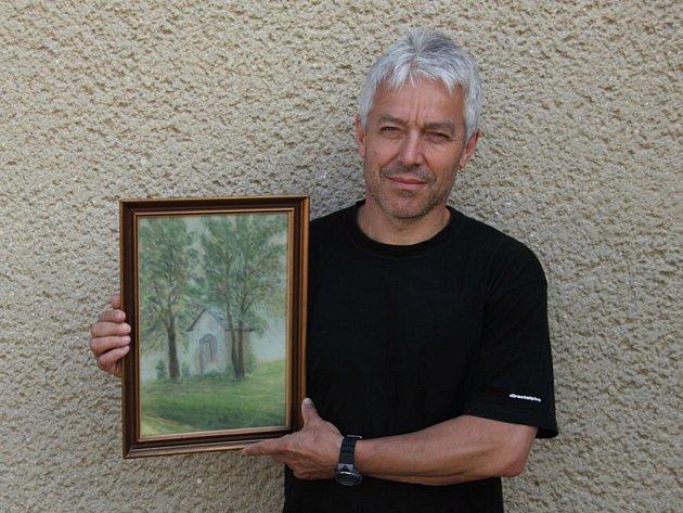"""""""Tento obraz mám moc rád, je v mé rodné chalupě. Mám s ním spojené vpomínky na dětství, představoval jsem si, že tu bydlí Ježíšek,"""" napsal na webové stránky nejkrasnejsiobraz.cz Karel"""