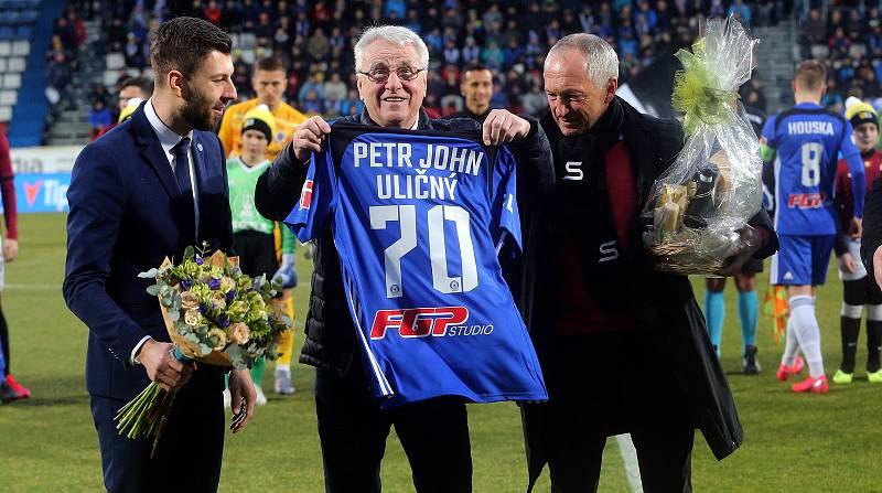 Petr Uličný loni slavil sedmdesátku.