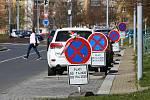 Plánovaná rekonstrukce povrchu vozovky ve Francouzské ulici na Slovanech.