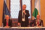 Prezident Miloš Zeman na plzeňské radnici