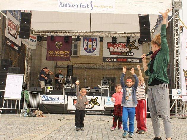 Radbuza fest v Dobřanech pobavil malé i velké