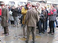 Oslavy 20. výroční sametové revoluce v Plzni.
