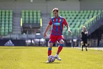 Ligovou premiéru si odbyl Matěj Hybš v Karviné, ale v poločase střídal.