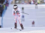 Kateřina Beroušková na snímku z únorového mistrovství světa ve finském Lahti.