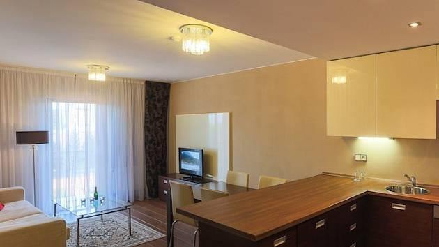 Zlaté apartmá hotelu Golden Fish
