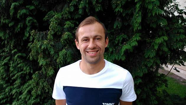 Na snímku střelec jediného gólu Interobalu Plzeň Lukáš Rešetár