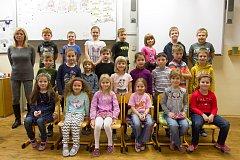 11. základní škola v Plzni. 1.A - Třídní učitelka Renata Viletová