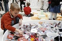 Nová výstava Play, která bude v plzeňské Techmanii k vidění od října vybízí k dotýkání a dotváření