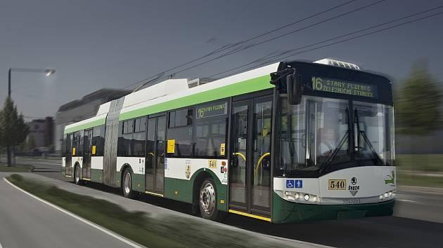 Nový trolejbus typu 27Tr