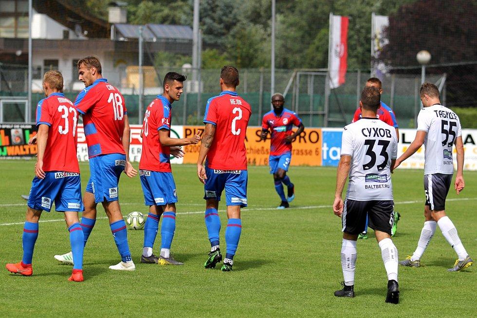 Fotbalisté Viktorie Plzeň zakončili herní kemp v rakouských Alpách vítězstvím nad ruským týmem FK Ufa
