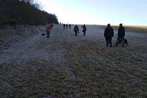 Novoroční procházka z Kokořova