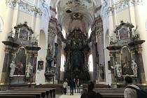 Kostel Nanebevzetí Panny Marie se ve čtvrtek 23. září naposledy otevřel před rozsáhlou rekonstrukcí, která potrvá až do roku 2023.