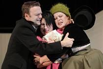 Kalibův zločin v podání Slováckého divadla je první inscenací letošního ročníku Mezinárodního festivalu Divadlo