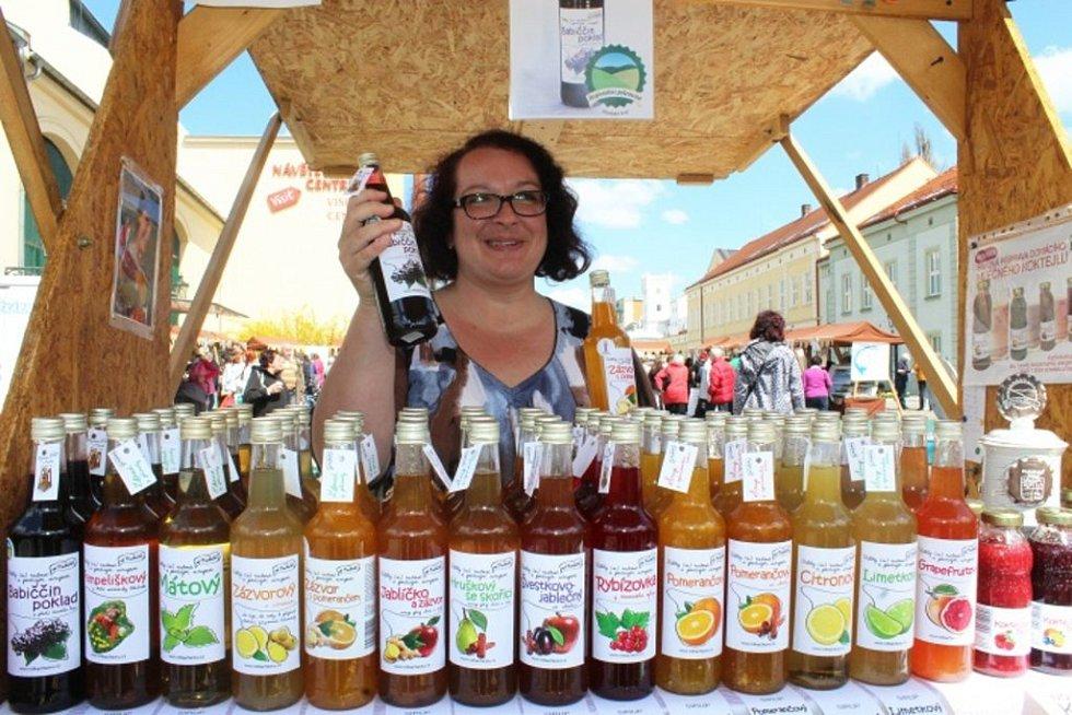 Značkou Regionální potravina se nově chlubí také sirup rodinné firmy Od Macháčků ze severoplzeňské Rybnice. Na snímku Helena Macháčková.