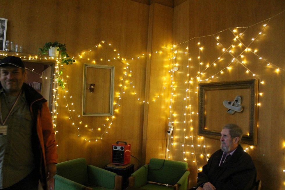 Interiéry objektu na Americké třídě 42 v Plzni