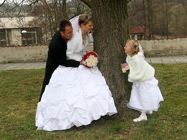 č. 130: Lucie a Vladislav Jebavých, Cebiv (Svatba: 30. března 2012)