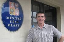 Tajemník městského úřadu Plasy Josef Domabyl
