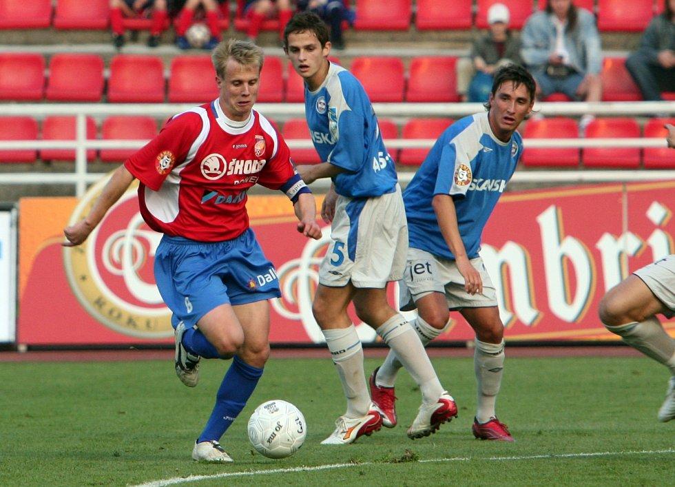 David Limberský proti Brnu na podzim 2006.
