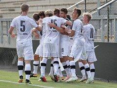 Ze zápasu druhého kola Youth League mezi AS Řím U19 a Viktorií Plzeň U19.