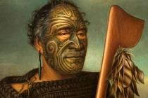 Náčelník Tāmati Wāka Nene (1785 – 1871), jak ho zachytil plzeňský rodák Gottfried Lindauer.