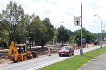 Rekonstrukce Vejprnické ulice.