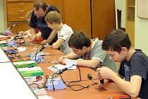 Elektrotechnický kroužek na SOU elektrotechnickém v Plzni