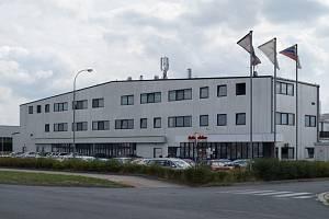 Sídlo společnosti na Borských polích v Plzni