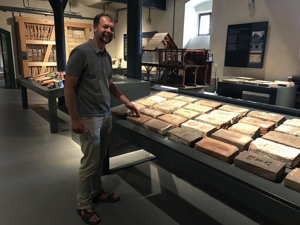 Vedoucí muzea Pavel Kodera