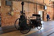 Parní vozidlo Baffrey (18886) replika (2012).