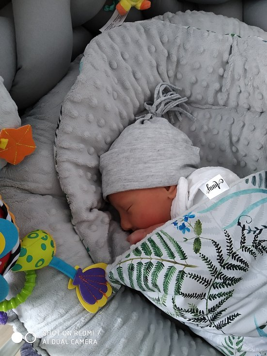 Patrik Salák z Horažďovic se narodil v klatovské porodnici 2. května v 5:37 hodin (3120 g, 50 cm). Tatínek byl u porodu svého syna mamince Andree velkou oporou, pohlaví miminka věděli rodiče dopředu.