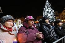 Vánoční zpívání koled s Českým rozhlasem Plzeň