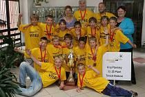 Žáci 33. ZŠ v Plzni–Skvrňanech vyhráli 13. ročník turnaje školních fotbalových družstev Mc Donald´s Cup