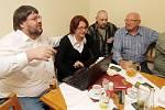 Krajské volby - štáb SPOZ v Plzni