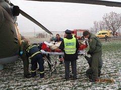 Dopravní nehoda mezi Vřeskovicemi a Borovy