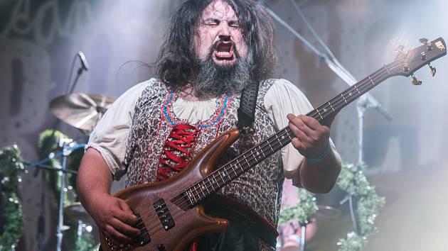 Trautenberk během koncertu v Plzni