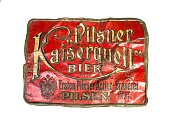 reklamní plechová cedule Kaiserquell
