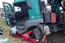 Třicetiletá řidička osobního auta neměla šanci listopadovou nehodu u Všerub přežít