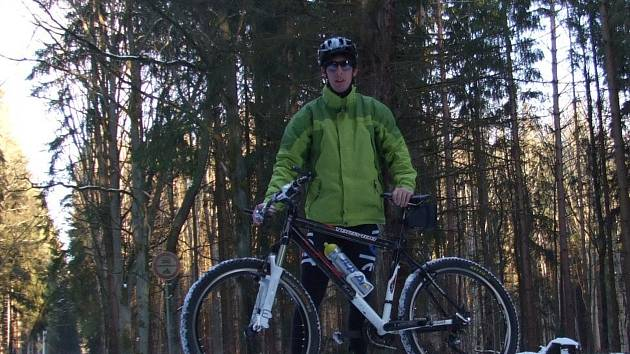 PRO PAVLA ŽIŽKU byl letošní nelehký rok velmi úspěšný. Narodila se mu dcera a měl více času na své oblíbené kolo.