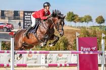 V Domažlicích se představí také mistr republiky v týmové soutěži juniorů Daniel Pospěch na koni Crown Boy.