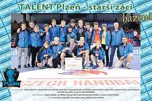 TALENT Plzeň - staší žáci