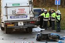 Tragická dopravní nehoda ve Studentské ulici v Plzni