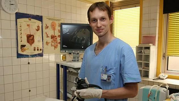 Gastroenterolog Karel Balihar.