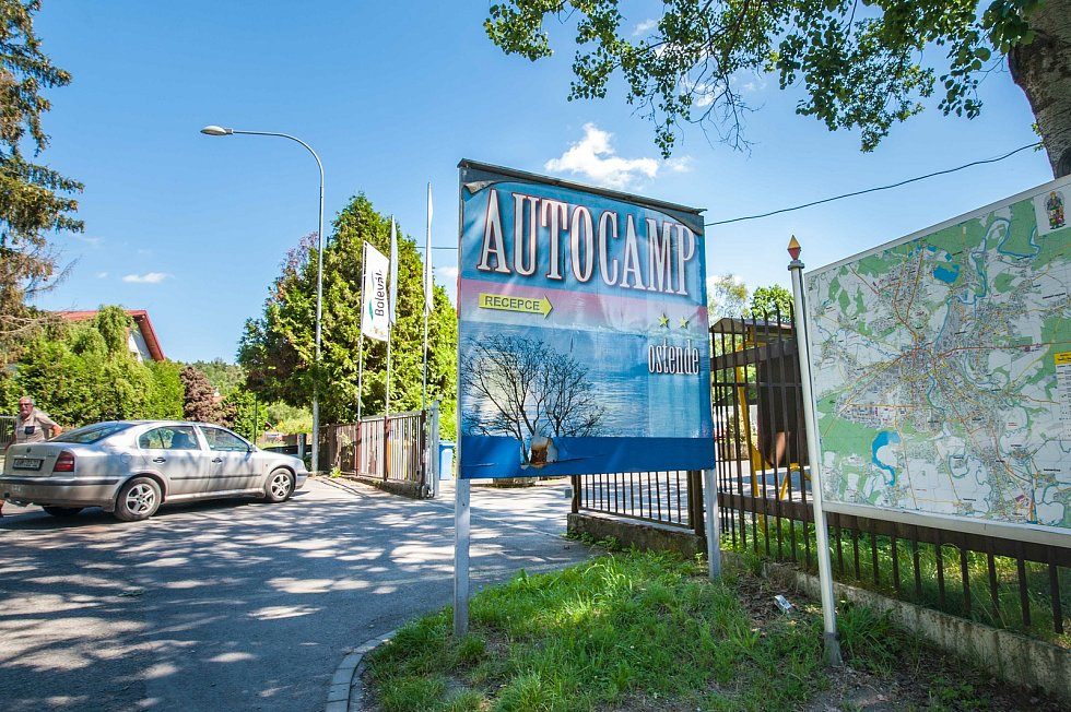 Plzeň, Autocamp Ostende
