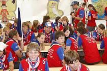 Švédskéhosvětového setkání skautů  jamboree se zúčastnili i mladí lidé ze západních Čech