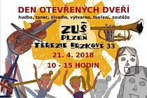 Den otevřených dveří na ZUŠ Terezie Brzkové.