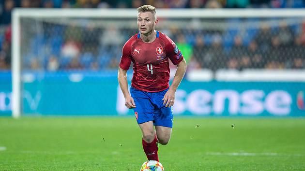 ZA REPREZENTACI už si Jakub Brabec v Doosan Areně zahrál proti Kosovu.
