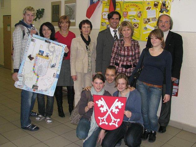 S jazykovou bariérou studenti z Plzně ani Regensburgu problém nemají.