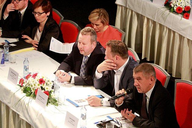 Konference Svazu Obcí a měst ČR republiky v Plzni