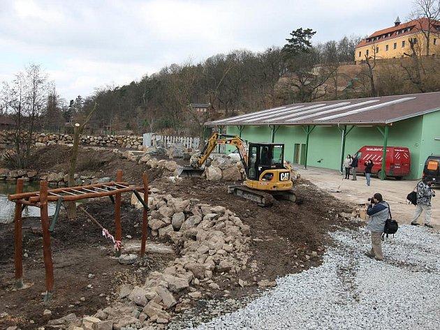 Výstavba nových expozic v plzeňské zoo